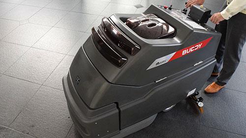 ロボット床面洗浄機「Buddy」
